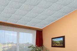 Polystyrenové stropní kazety