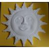 Designová stropní a stěnová dekorace D3 z tvrdého polystyrenu - slunce o průměru 305 mm